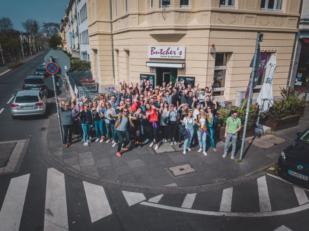 öffentliche Shnitzeljagd in Bonn