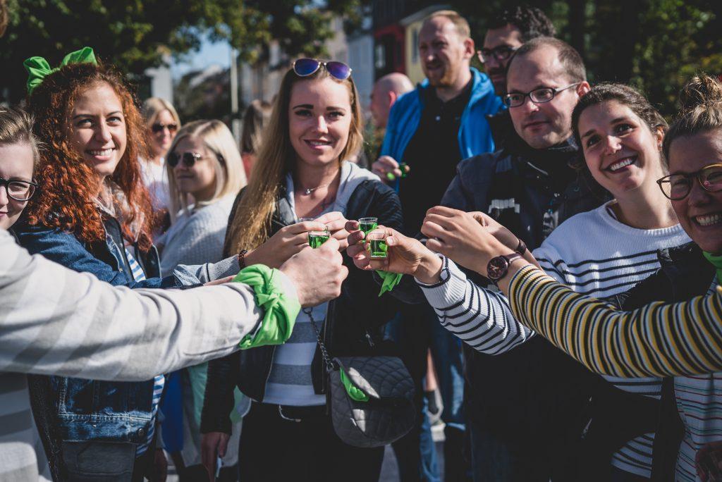 Studenten Schnitzeljagd Siegen